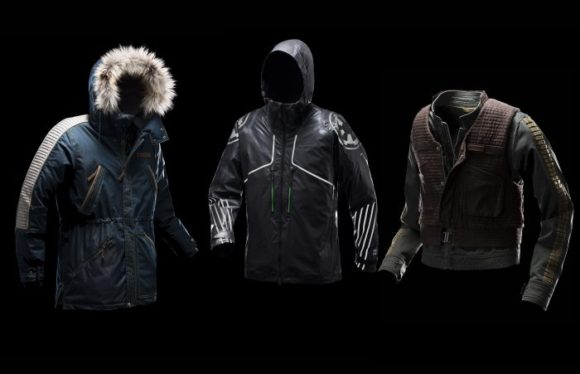 Columbia Star Wars Jackets