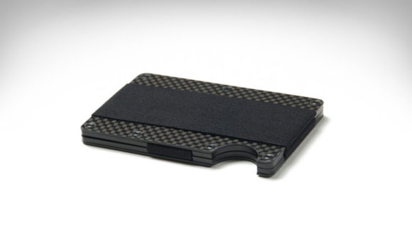 Carbon Fiber Ridge Wallet