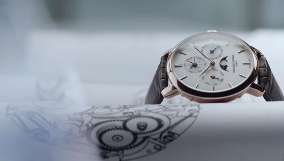 Frederique Constant Slimline Perpetual Calendar Watch