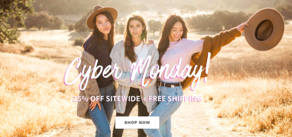 Ivory Ella Cyber Monday Sale - 25% off