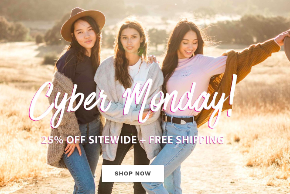 0e0aafbb62a5 Ivory Ella Cyber Monday Sale - 25% off - Chill Things