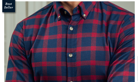 Mizzen+Main Performance Flannel