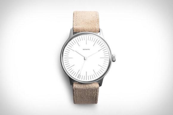 Defakto Vektor Silbermatt Watch