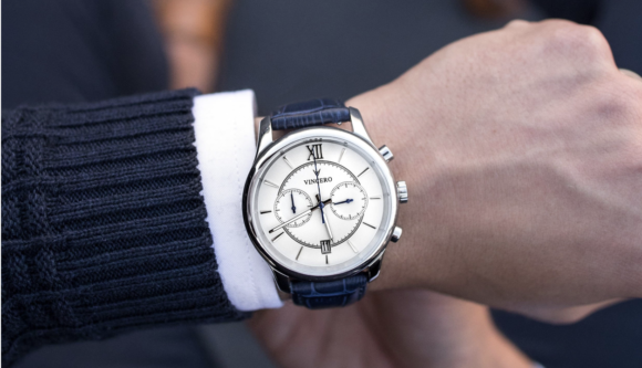 Vincero Watches - The Bellweather in Silver + White
